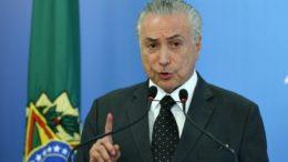 Michel Temer foi indiciado por corrupção, lavagem de dinheiro e organização criminosa (Foto: Lula Marques/ Agência PT)