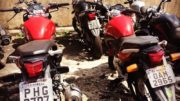 Motos roubadas estão com placas clonadas e Detran quer identificar os proprietários (Foto: Detran/Divulgação)