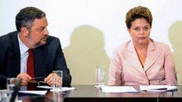 Antonio Palocci e a ex-presidente Dilma Rousseff tiveram seus bens bloqueados pelo TCU (Foto: Agência Brasil)