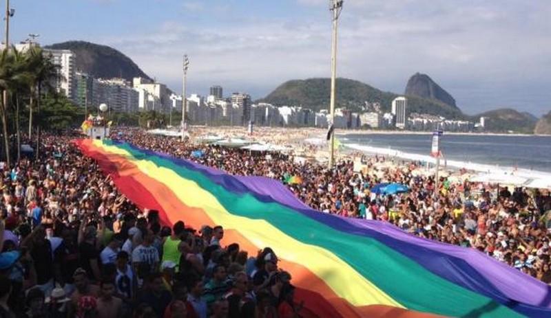 Parada LGBTI foi transferida por falta de recursos para o dia 19 de novembro (Flávia Vilela/Agência Brasil)