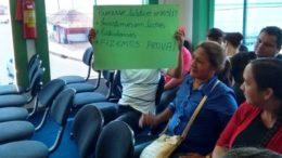 Processo seletivo Manacapuru protesto