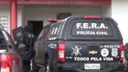 Policiais militares do Grupo Fera invadiram a cadeia para conter rebelião em Manacapuru (Foto: ATUAL)