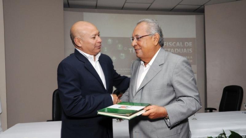 Ricardo Castro e Amazonino Mendes