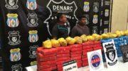 Pedro Dias e Zimar Albino Dantas foram presos por tráfico de droga, avaliada em R$ 20 milhões (Foto: Atual)