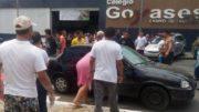 Cinco jovens teriam ficado feridos durante tiroteio em escola particular de Goiânia (Foto: Facebook/Reprodução)