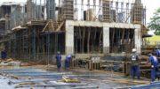 Número de trabalhadores na construção civil encolheu 3,8% no terceiro trimestre de 2017 ante o mesmo período de 2016 (Foto: Agência Brasil)