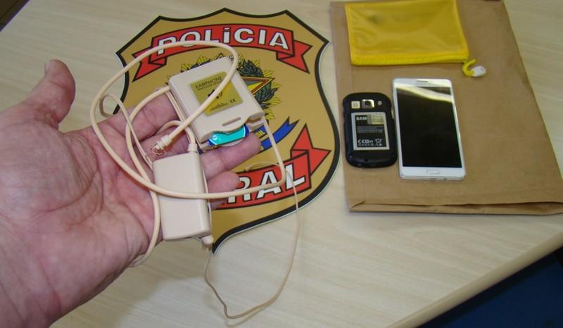 Organização criminosa que fraudava concursos públicos no Distrito Federal e em Goiás, entre os quais o Enem (Foto: Polícia Federal/Divulgação)