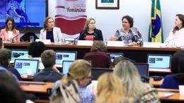 Comissão da Câmara quer indenização para vítimas de violência sexual (Foto: Alex Ferreira/Agência Câmara)