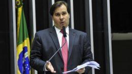 Rodrigo Maia instalou comissão par analisar com prioridade um projeto sobre abuso de autoridade (Foto: Luis Macedo/Câmara dos Deputados)