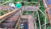 Torre Atto é um projeto que busca entender o papel da Amazônia no clima e os efeitos das mudanças climáticas na floresta (Foto: Inpa/Divulgação)