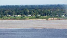 Encontro das Águas, em Manaus. Fórum vai discutir recursos hídricos em todo o mundo (Foto: Valter Calheiros/Divulgação)
