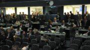 Plenário da ALE. Atividade parlamentar fora da Assembleia é paga com dinheiro reservado no orçamento da Casa (Foto: Danilo Melo/ALE/Divulgação)