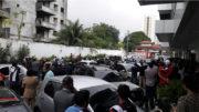 Advogados e parentes de Wilson Justo lotaram a sede da OAB, nesse sábado, no velório do advogado assassinado (Foto: OAB/Divulgação)