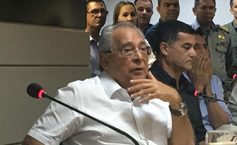 Amazonino diz que ainda não tem o governo na mão após 30 dias como governador (Foto: ATUAL)