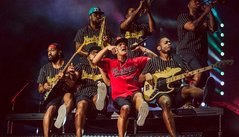 Bruno Mars Show em São Paulo