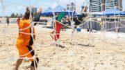 Beach hand é uma das modalidades que serão disputadas em Manaus na liga de Desporto Universitário (Foto: CBDU/Divulgação)