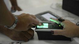 Biometria eleitoral será usada emissão de passaportes (Foto: Foto: Antônio Cruz/ABr)