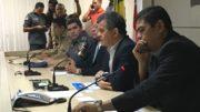 Secretário Bosco Saraiva apresentou indicadores sobre criminalidade com números favoráveis a SSP-AM (Foto: ATUAL)