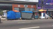 Justiça atendeu solicitação do Ministério Público para desobstruir calçadas em Manaus (Foto: ATUAL)