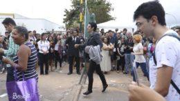 Número de faltosos foi alto e tema da redação surpreendeu os candidatos nesse domingo (Foto: Valter Campanato/ABr)