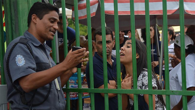Em Manaus, protões fecham às 11h e não haverá tolerância com atrasados (Foto: José Cruz/ABr)