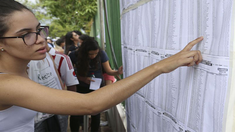 Candidatos devem observar critério para definir pontos conforme acertos e erros (Foto: Valter Campanato/ABr)