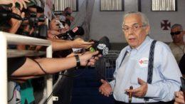 Eurico Miranda foi reeleito no comando do Vasco, mas adversário contesta votos de urna (Foto: Paulo Fernandes/Vasco.com)