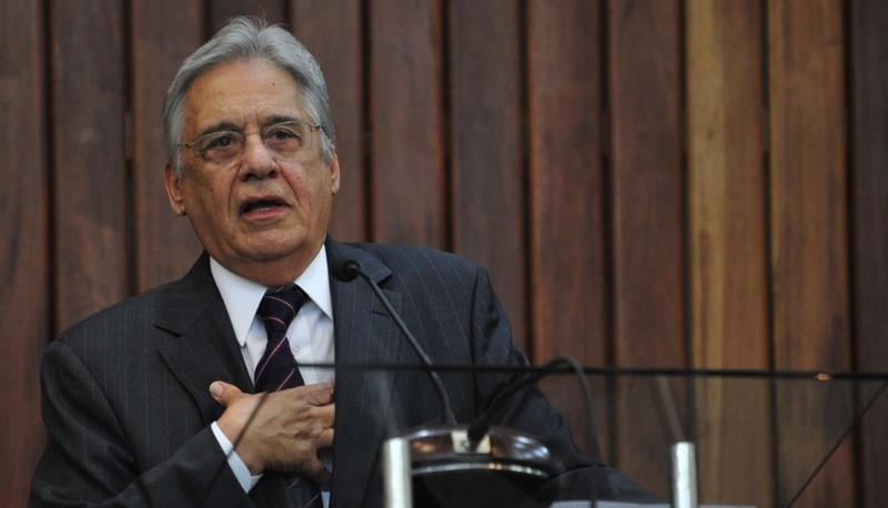 Laudo da PF mostra que FHC pediu doações da Odebrecht para campanha