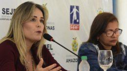 Secretária de Esportes do Amazonas disse que dívidas com passagens chegam a R$ 5 milhões (Foto: Mauro Neto/Sejel/Divulgação)