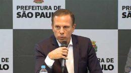 João Doria prefeito de sao paulo
