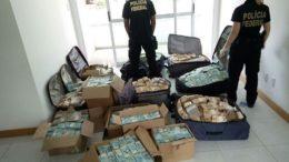 Polícia Federal encontrou R$ 51 milhões em apartamento (Foto: Polícia Federal/Divulgação)