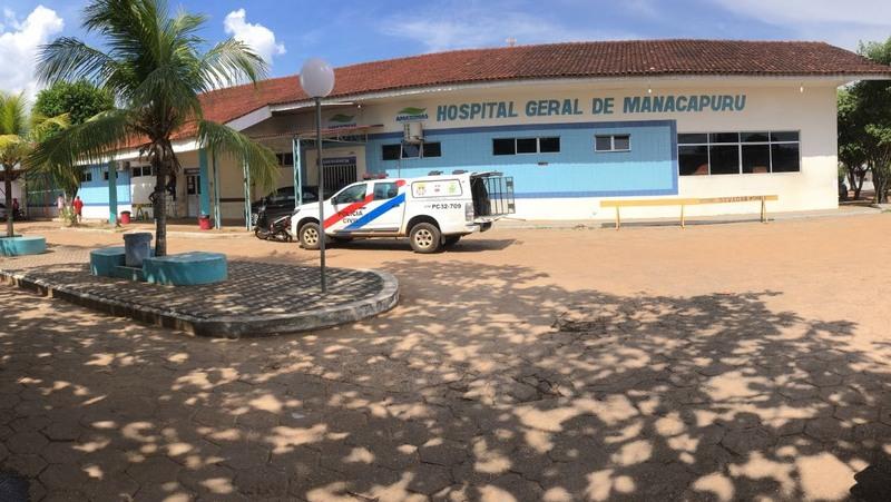 Hospital de Manacapuru. Prefeitura informa que serviços de saúde no município não serão afetados (Foto: ATUAL)