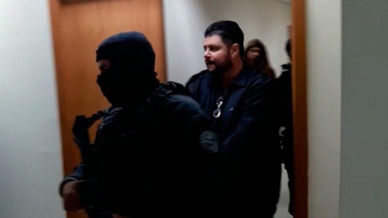 ouhamad Moustafa depôs sob forte esquema de segurança policial à Justiça Federal (Foto: ATUAL)