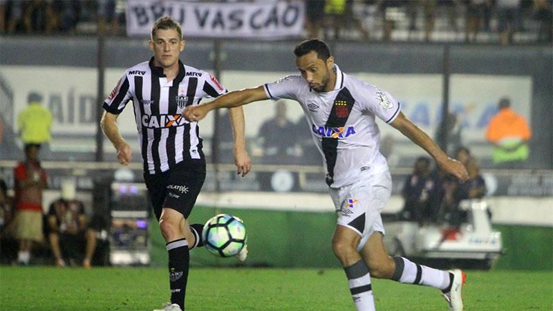 Vasco e Atlético-MG empatam em São Januário