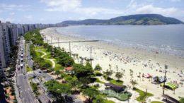 Contaminação por cocaína nas praias de Santo é maior durante o carnaval (Foto: Divulgação)