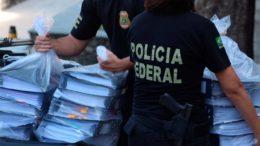 Polícia Federal cumpriu mandados de busca e apreensão em Salvador, para desarticular fraude na Previdência (Foto: Divulgação)