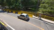 Não há problemas com ponte em bairro da zona oeste de Manaus, informou a Seminf (Foto: Alex Pazuello/Semcom)