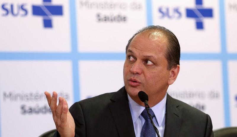 Brasília - O ministro da Saúde, Ricardo Barros, concede sua primeira entrevista coletiva à imprensa sobre assuntos relacionados à pasta (Foto: Wilson Dias/Agência Brasil)