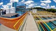 Sanepar, a companhia de água do Paraná, é uma das estatais que o governo do Estado está negociando as ações (Foto: Sanepar/Divulgação)