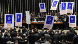 Governo precisa de 308 votos para aprovar o texto da reforma da Previdência na Câmara (Foto: Luis Macedo/Câmara dos Deputados)