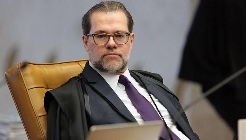 Dia Toffoli disse ter a impressão de querer se transformar o âmbito do processo penal num 'órgão de controle de recursos públicos' (Foto: STF/Divulgação)