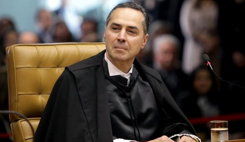 Para Luís Roberto Barroso, a judicialização da política é mais consequência de ações dos políticos do que da Justiça (Foto: Fellipe Sampaio/SCO/STF)