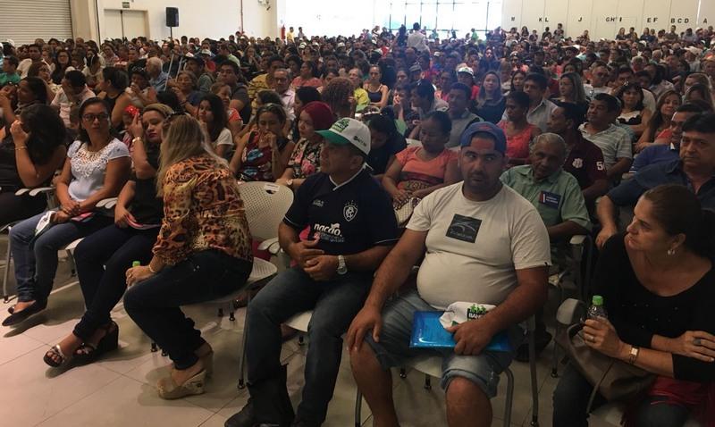 Produtores rurais e pequenos empreendedores participaram de solenidade da Afeam (Foto: ATUAL)