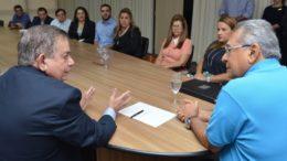 Lourenço Braga foi empossado com a missão de rever programas de educação para período de um ano (Foto: Clóvis Miranda/Secom)