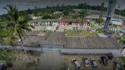 Centro de Detenção Provisória na B-174, zona rural de Manaus, abriga ex-secretários presos em operação da PF e MPF (Foto: Google/Reprodução)