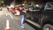 Fiscalização registrou aumento no número de motoristas dirigindo embriagados no período do Natal (Foto: Detran/Divulgação)