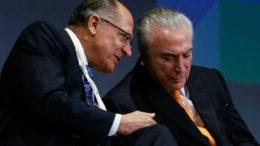 Geraldo Alckmin vai se encontrar com Michel Temer neste final de semana, mas disse que não falará de política (Foto: Marcos Corrêa/PR)