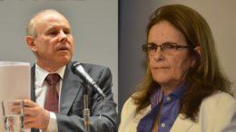 Guido Mantega e Graça Foster foram denunciados por prejuízo bilionário à Petrobras (Foto: Agência Brasil)