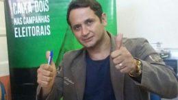 Jadelvone Deltrudes foi preso por porte ilegal de arma de fogo (Foto: Divulgação)
