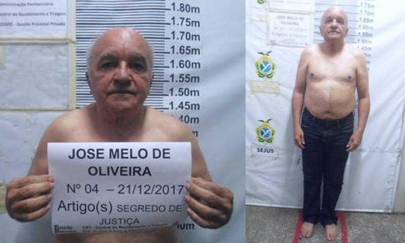 Foto de Melo preso é verdadeira e governo investiga responsáveis ...